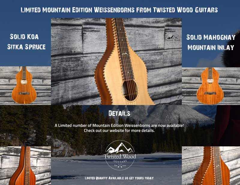 Limited Edition Mountain Series Weissenborns Available now